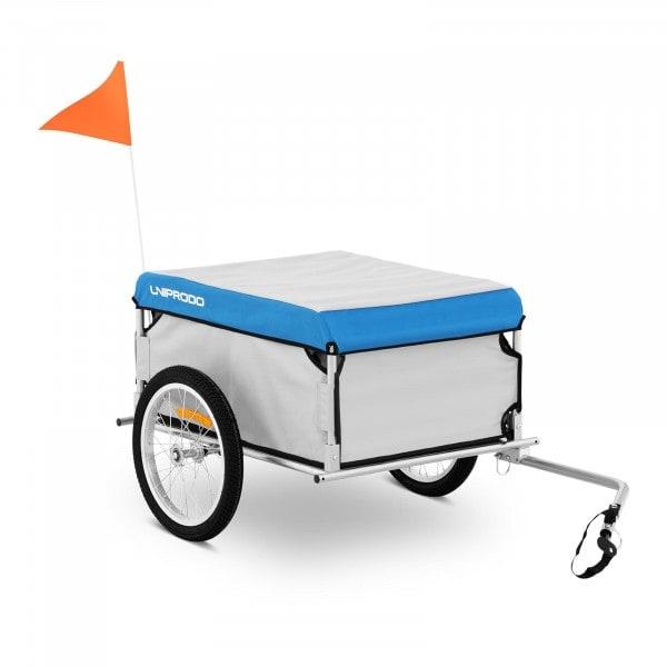 B-zboží Nákladní vozík za kolo - 50 kg - paprskové odrazky - plachta
