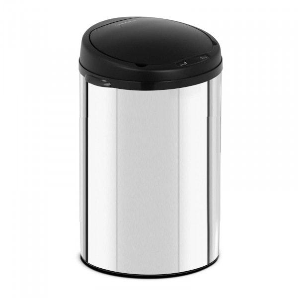 B-zboží Bezdotykový odpadkový koš - 30 l - galvanizovaná ocel
