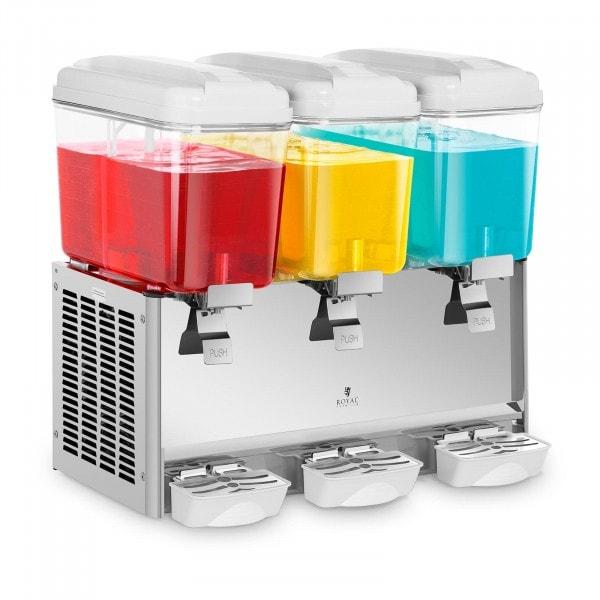 Vířič chlazených nápojů - 3 x 18 litrů