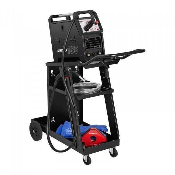 Svářečský vozík - šikmý - 3 odkládací plochy - 75 kg