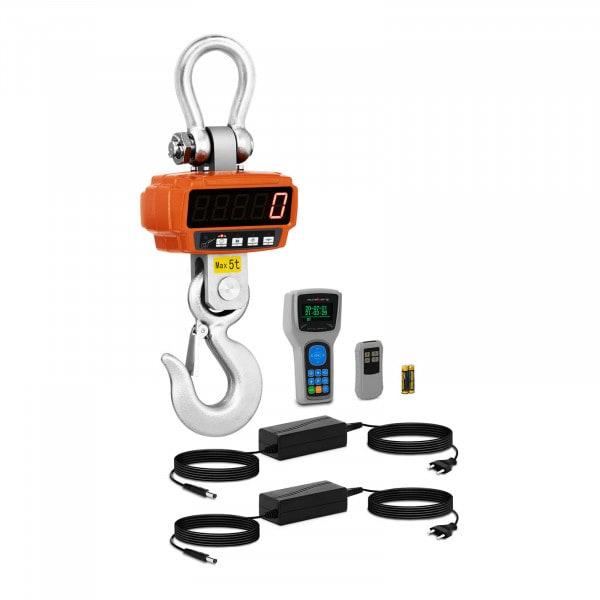 Jeřábová váha - 5t / 1 kg - Remote display