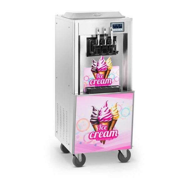Zboží z druhé ruky Stroj na točenou zmrzlinu - 2 000 W - 2 x 8,5 l - 23 l/h