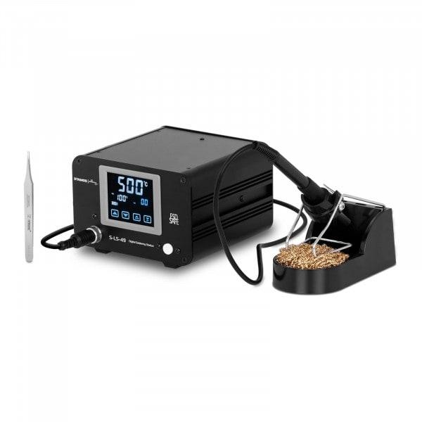 B-zboží Digitální pájecí stanice - 100 W - dotykový LCD displej
