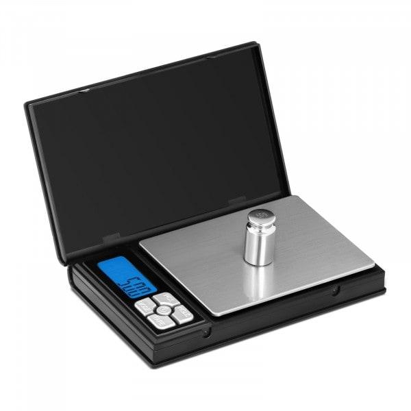 B-zboží Digitální kapesní váha - 3 000 g - 0,5 g / 1 000 g - 115 x 91 mm