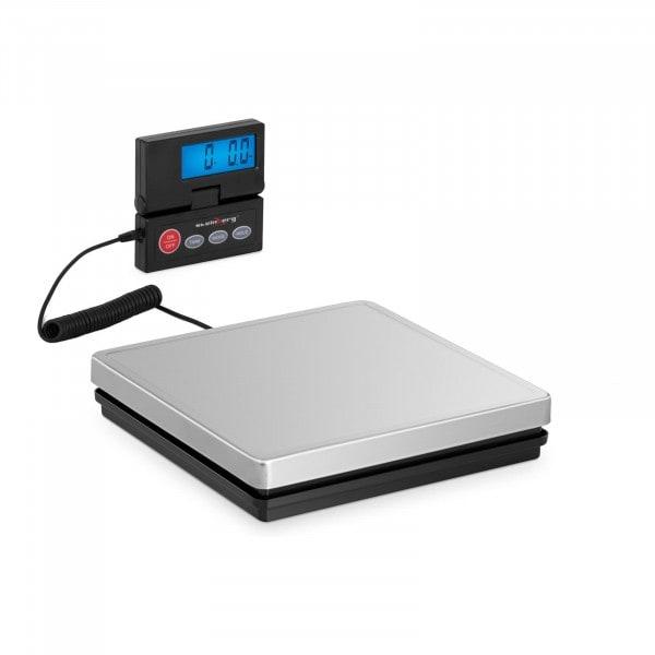 B-zboží Digitální váha na balíky - 50 kg / 10 g - 25 x 25 cm - externí LCD