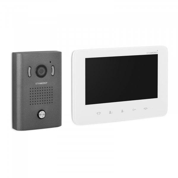 B-zboží Dveřní videotelefon - 1 monitor - displej 17,8 cm