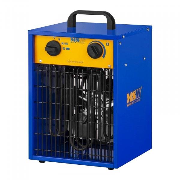 Elektrické topidlo s ventilátorem - 0 až 85 °C - 3 300 W
