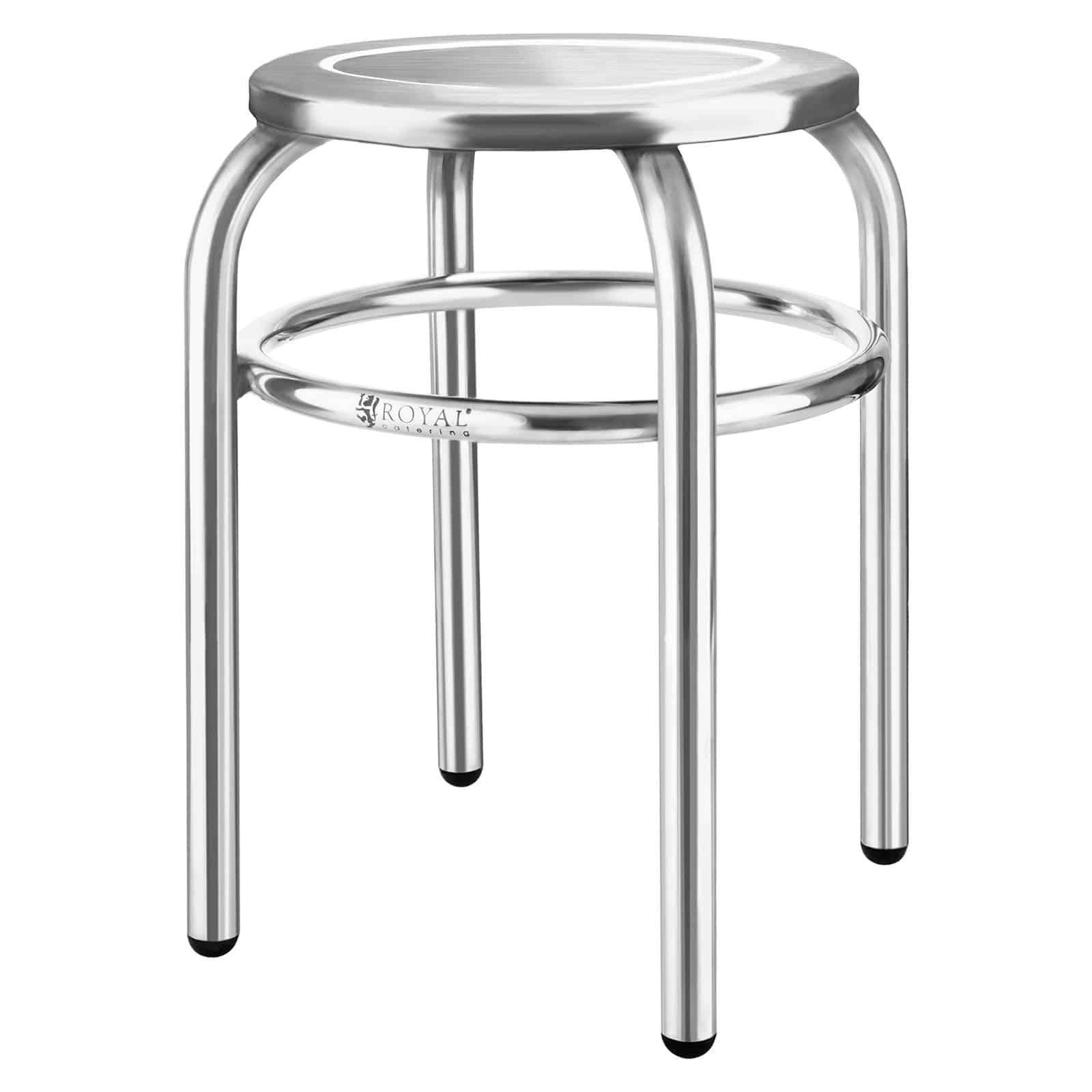 Stoličky z ušlechtilé oceli