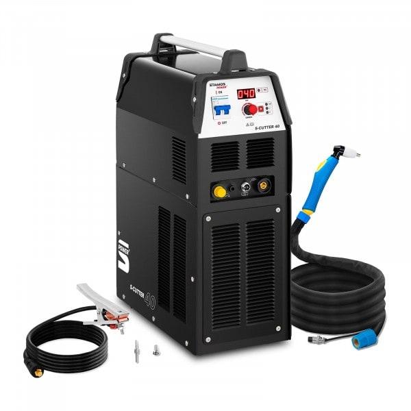 Plazmová řezačka s kompresorem - 40 A - ED 60 % - digitální - 230 V