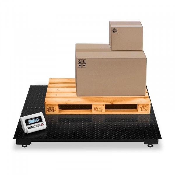 B-WARE Podlahová váha -3 t / 1 kg -LCD