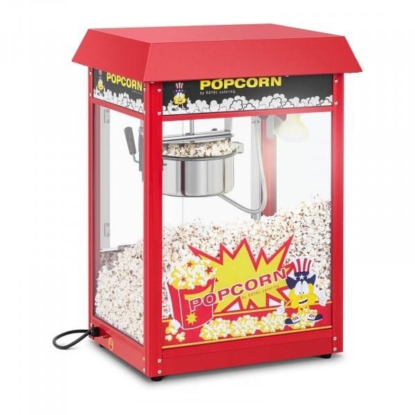 Stroj na popcorn - červená stříška