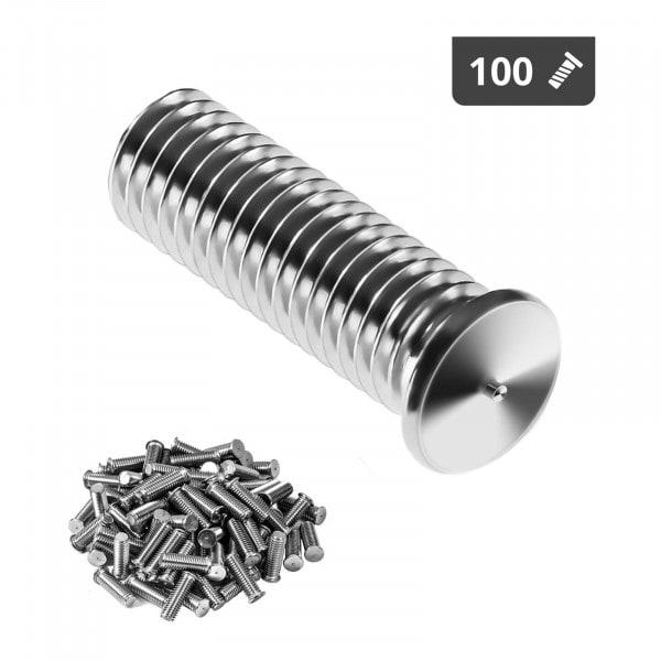 Navařovací šrouby-M8-25 mm-ušlechtilá ocel-100 kusů