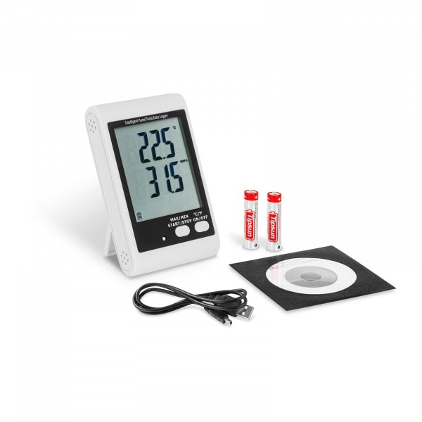 Datalogger - LCD displej - teplota + vlhkost vzduchu