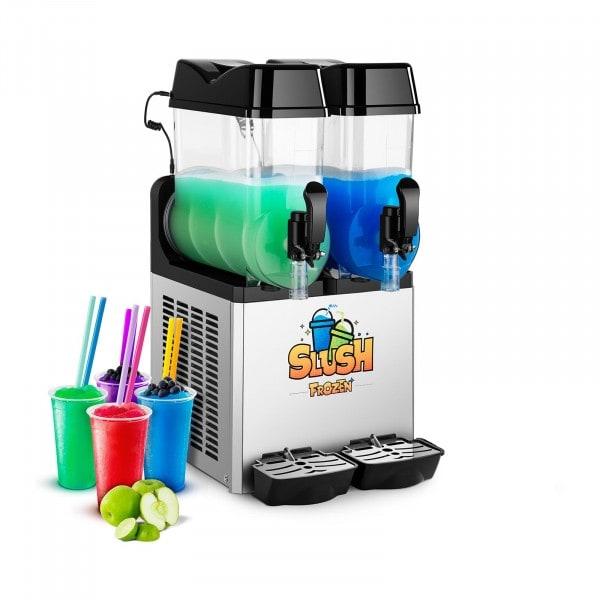 Výrobník ledové tříště - 2 x 12 litrů - LED