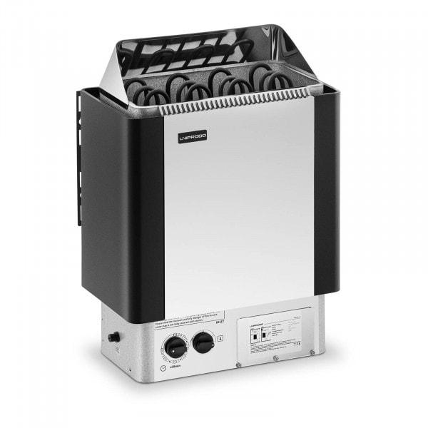 B-zboží Saunová kamna - 6 kW - 30 až 110 °C - se zabudovaným ovládáním