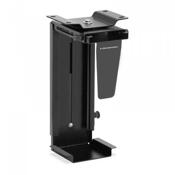 B-zboží Držák na PC pod stůl - nastavitelný - otočný o 360° - 10 kg