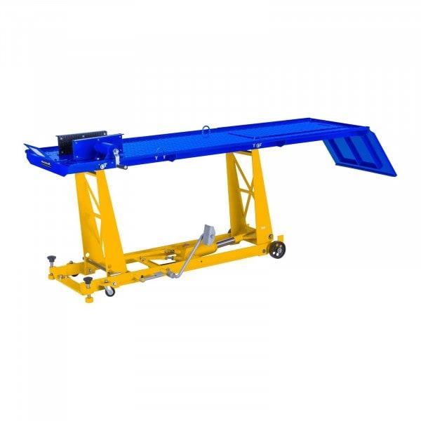 Hydraulická rampa na motocykly - 450 kg - 220 x 68 cm
