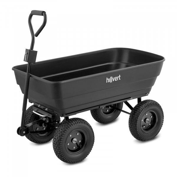 Zahradní vozík - 350 kg - sklápěcí - 125 l