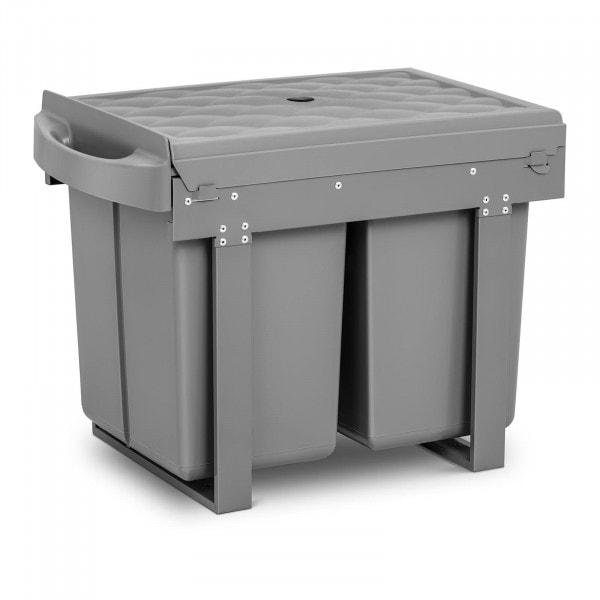B-zboží Duo vestavný odpadkový koš - 2 x 20 l