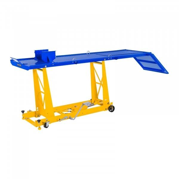 Hydraulická rampa na motocykly - 450 kg - 206 x 55 cm