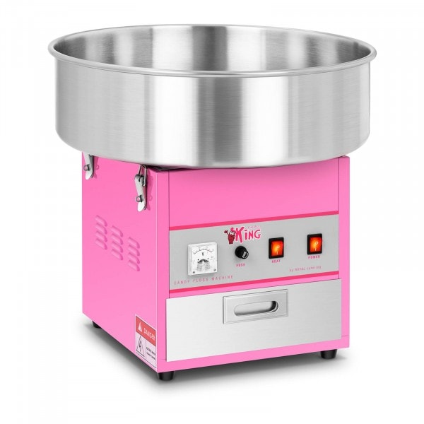 Stroj na cukrovou vatu - 52 cm - 1200 W