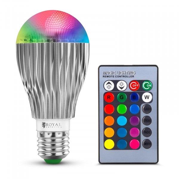LED žárovka s dálkovým ovládáním - 16 nastavitelných barev - 5 W