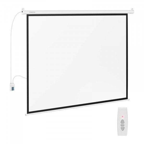 B-zboží Projekční plátno elektrické - 211 x 160 cm - 4:3