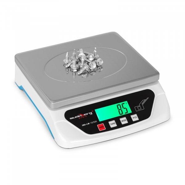 Poštovní váha - 10 kg / 0,5 g - LCD - Basic