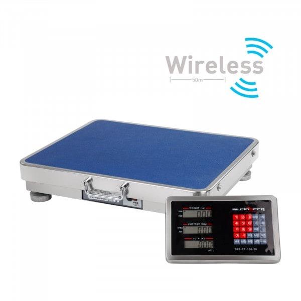 Gesamtansicht 1 von Plattformwaage - 150 kg / 20 g - wireless