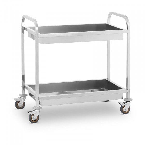 Servírovací vozík - 2 vany