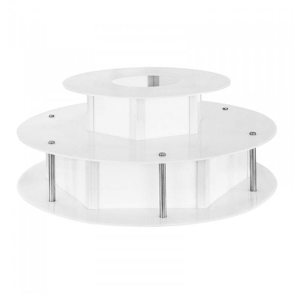 Osvětlený stůl na fontánu na čokoládu - 100 cm