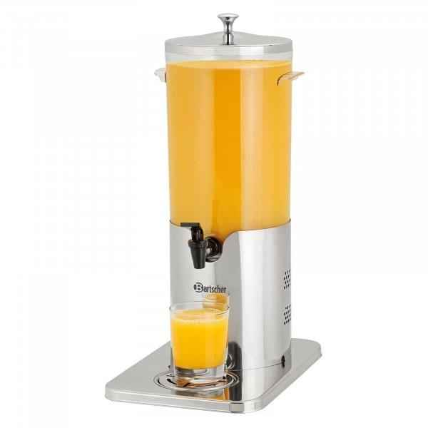 Gesamtansicht von Bartscher Getränke-Dispenser DTE5 - thermoelektrisch